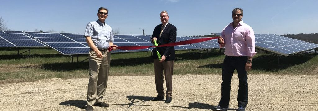 GSPP & solect cut the ribbon for OSV solar system