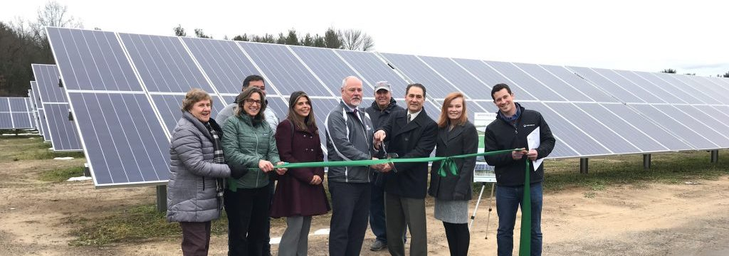 GSPP holds ribbon cutting for Westfield, MA community solar