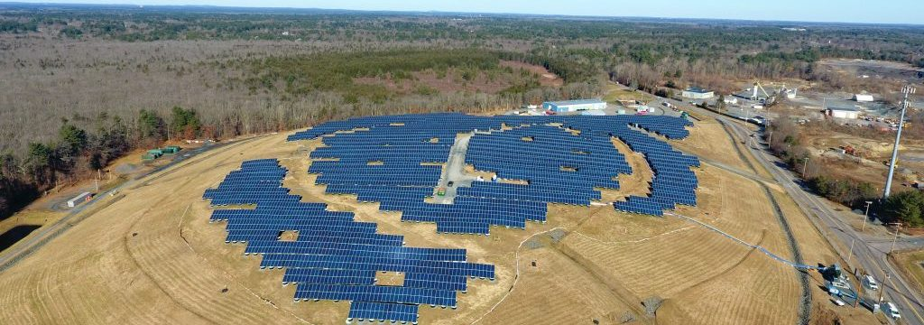 GSPP Transforms Raynham, MA landfill into renewable energy site