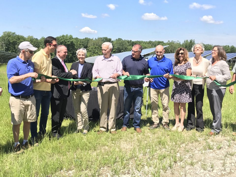 New Windsor Community Solar Ribbon Cutting -- GSPP
