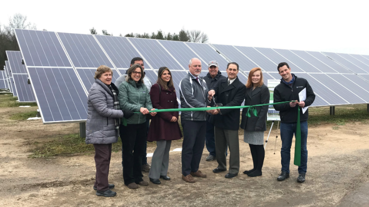 Westfield Community Solar Ribbon Cutting Ceremony GSPP
