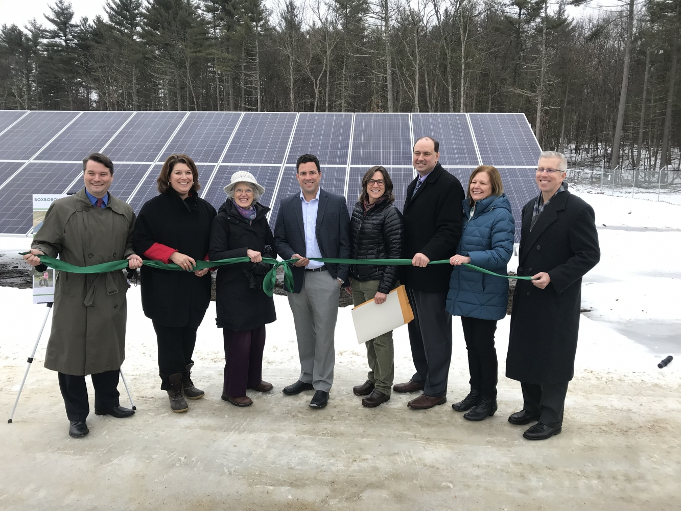 Boxborough Community Solar Ribbon Cutting - Green Street Power Partners